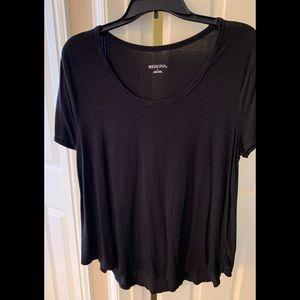 Short sleeve modal t-shirt